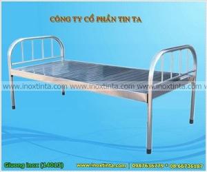 giường bệnh nhân inox 1m2